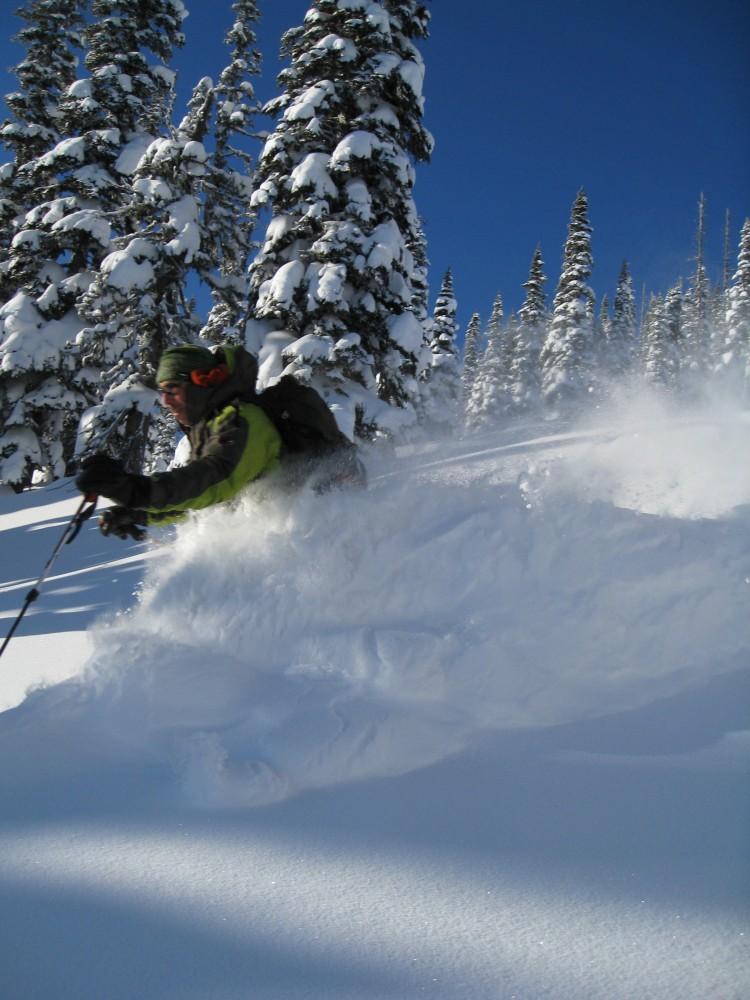 bearpaw heli-skiing powder sking